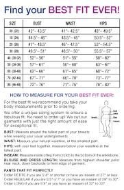 Plus Size Clothing Size Chart Gobe80 Size Charts Measurements Governancetodaynigeria Com