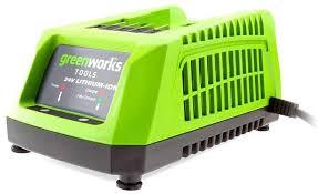 Купить <b>Зарядное устройство Greenworks</b> G24C (2903607) в ...