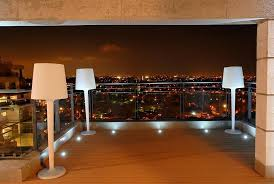 view in gallery in floor led lighting for the fabulous contemporary deck photography eran turgeman balcony lighting