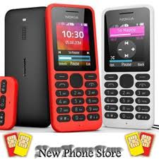 nokia dual sim phones. nokia 130 gsm dual sim ( black / orange yellow ) phones