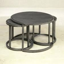 coffee table furniture round nesting tables bronze side l lamps bamboo gl