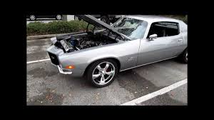 1971 Camaro Z28 LS3, TCI 4 speed automatic, For Sale - YouTube