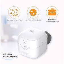 FREESHIP] Máy tiệt trùng tia UV dạng hộp tiệt trùng ti giả mini 59S công  nghệ khử trùng bằng tia UV, tia cực tím