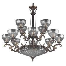 classic lighting 55438 rb warsaw 14 light chandelier in roman bronze