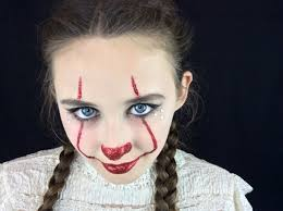 easy scary clown makeup beautiful glam pennywise from the it makeup tutorial you