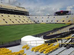 Lsu Tiger Stadium View From South Endzone 401 Vivid Seats