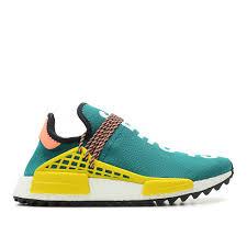 adidas pharrell. adidas originals \u003d pharrell williams hu nmd tr boost moon clouds \u0027human race\u0027 (turquoise / yellow white) - free shipping starts at 75\u20ac thegoodwillout.