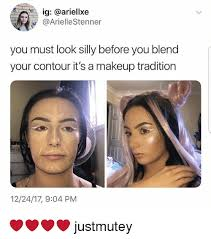 makeup memes and ig ariellxe ariellestenner you must look