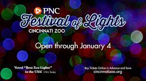 Cincinnati Light Show October 2017 Pnc Festival Of Lights Commercial 2019 Cincinnati Zoo