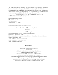 Assistant Librarian Resume Resume For Study