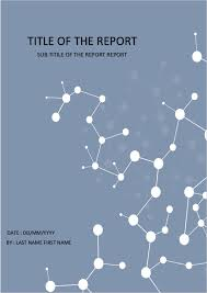 Chemistry Cover Page Designs White Dots Cover Page