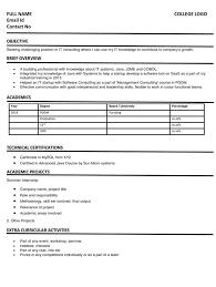 Fresher CV Format   Fresher Resume Sample Example     Naukrigulf com