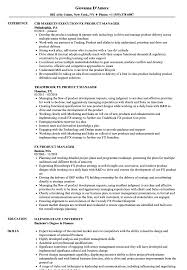 Fx Product Manager Resume Samples Velvet Jobs