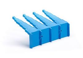 <b>Настенный держатель для</b> инвентаря, 240 мм, синий цвет | Vikan