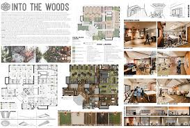 into the woods an interior design project by msu seniors hannah monroe and