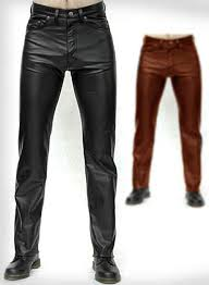 leather pants jeans style