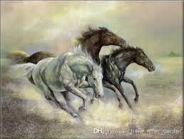 2018 handcraft animal oil painting on canvas running horse 24x36inchno frame from china offer center 37 24 dhgate com