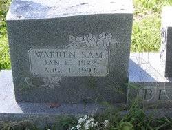 "Warren ""Sam"" Berger (1922-1993) - Find A Grave Memorial"