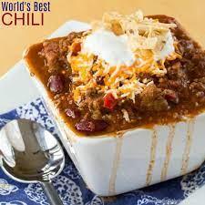 the best chili recipe easy homemade