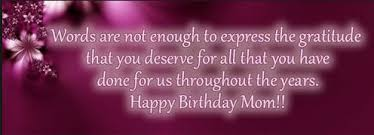 Beautiful Quotes For Mothers Birthday Best of Heart Touching 24 Happy Birthday MOM Quotes From Daughter Son