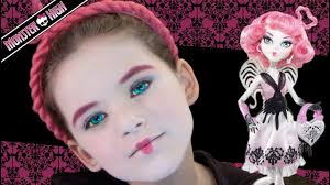 c a cupid monster high doll costume makeup tutorial you