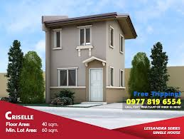 Camella Homes House Design Philippines Criselle Affordable House For Sale In Nasugbu Camella