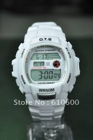 sport chrome picture more detailed picture about 2012 new ots 2012 new ots 5atm shock digital outdoor waterproof men sport watch g 6901 white