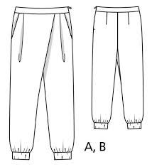 Wrap Pants Pattern Beauteous Wrap Trousers Plus Size 4848 48B Sewing Patterns
