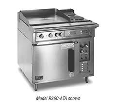 electric range with griddle. Lang Electric Range With Griddle And Convection Oven For