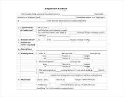 This employment contract template states in clear and explicit terms the conditions of employment. 11 Yearly Contract Examples Pdf Doc Examples