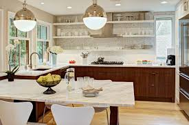 Built in kitchen table ideas kitchen contemporary with kitchen table range  hood dark wood drawers