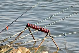 Free picture: coastline, fishing gear, fishing rod, water, river,  reflection, lake, nature, summer, sport