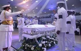 Photos: Tears As Pastor Dare Adeboye Is Buried