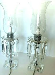 vintage crystal lamps crystal hurricane lamps crystal hurricane lamp candle holder crystal hurricane lamp antique crystal vintage crystal lamps