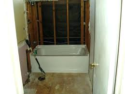 install tub shower combo