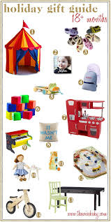 Holiday gift ideas for your special little 18 + month old!
