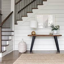 shiplap, contrast | make an entrance | Home, Home decor, Home remodeling