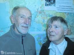 Monique et <b>Jean Fourgeaud</b> ont navigué quatre ans sur les mers du monde. - 1539317
