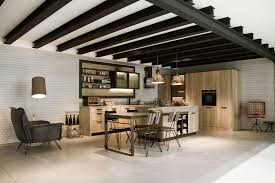 Small Loft Design Kitchen Design For Lofts 3 Urban Ideas From Snaidero For