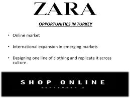 zara opportunities