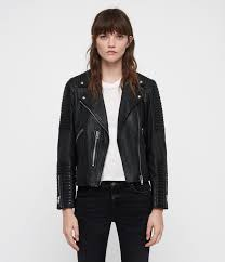 estella leather biker jacket
