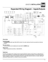 dual model xhd7714 stereo 16 pin wiring harness diagram circuit Ford Wiring Harness Kits at Dual Xdvd8181 Wiring Harness