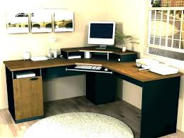 l shaped desk for two. Interesting For T Shaped Desk For Two Angelica Dual Computer Monitor  Attractive Fabulous Desks And   In L Shaped Desk For Two
