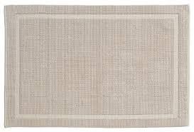 grund 100 organic cotton bath rugs sand