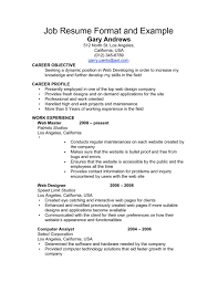 Perfect Job Resume Example How To Prepare A Resume Sample Write Perfect Examples Make Job 28