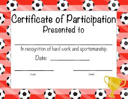 certificate soccer award certificate template latest soccer award certificate template