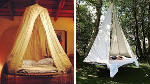 diy trampoline swing bed