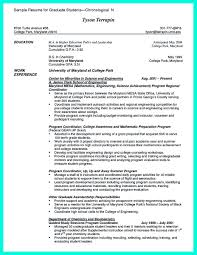 Cool Sample Of College Graduate Resume With No Experience College