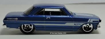 Two Lane Desktop: Hot Wheels 1963 Chevy II and 1964 Chevy Nova Wagon