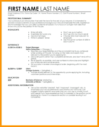Examples Of A Perfect Resume Cool Writing The Perfect Resume 28 Example Examples And Free Builder How